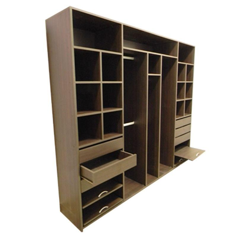 Placard 250 de ancho x 220 melamina 18mm en mercadolibre muebles melamina for Closet melamina