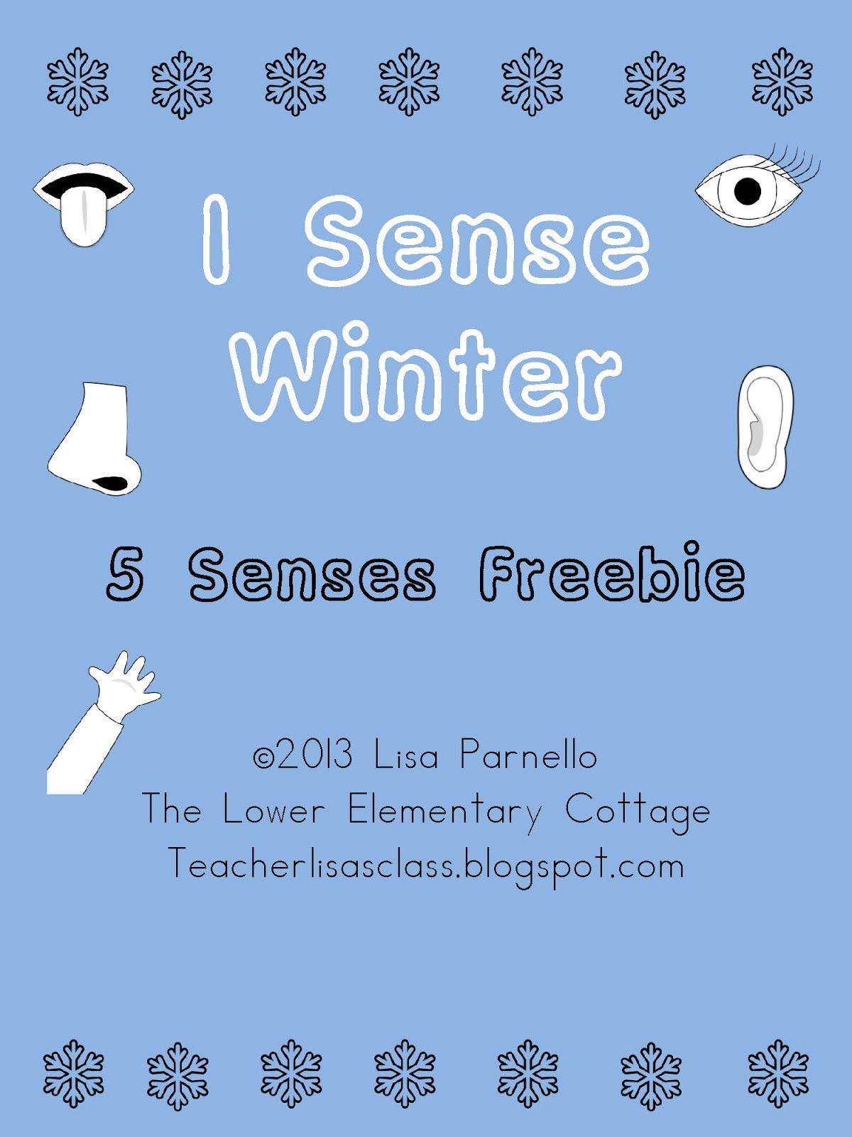 Winter 5 Senses Freebie