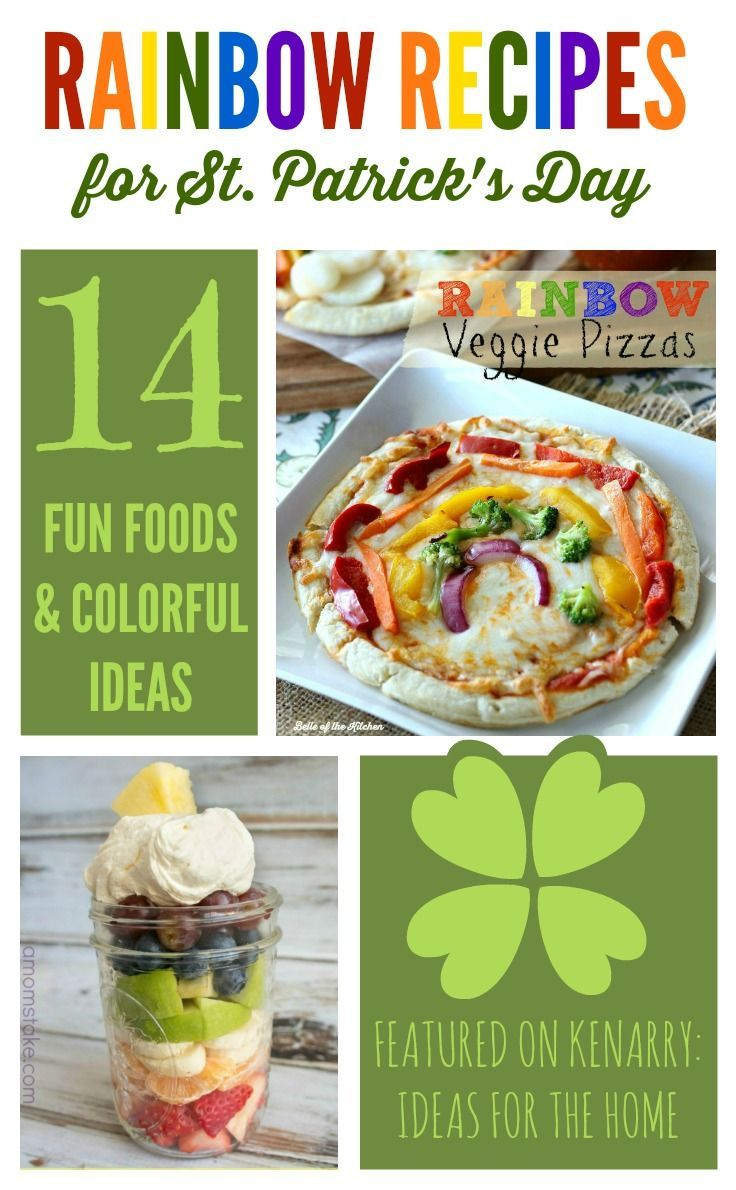 Rainbow recipes 14 colorful ideas for st patricks day st celebrate st patricks day with these rainbow recipes my kids will love these fun food ideas forumfinder Gallery