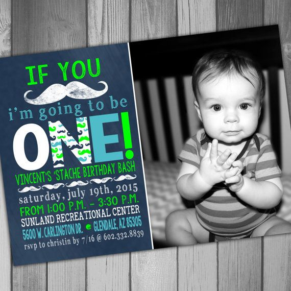 mustache birthday invitation moustache party boy by claceydesign
