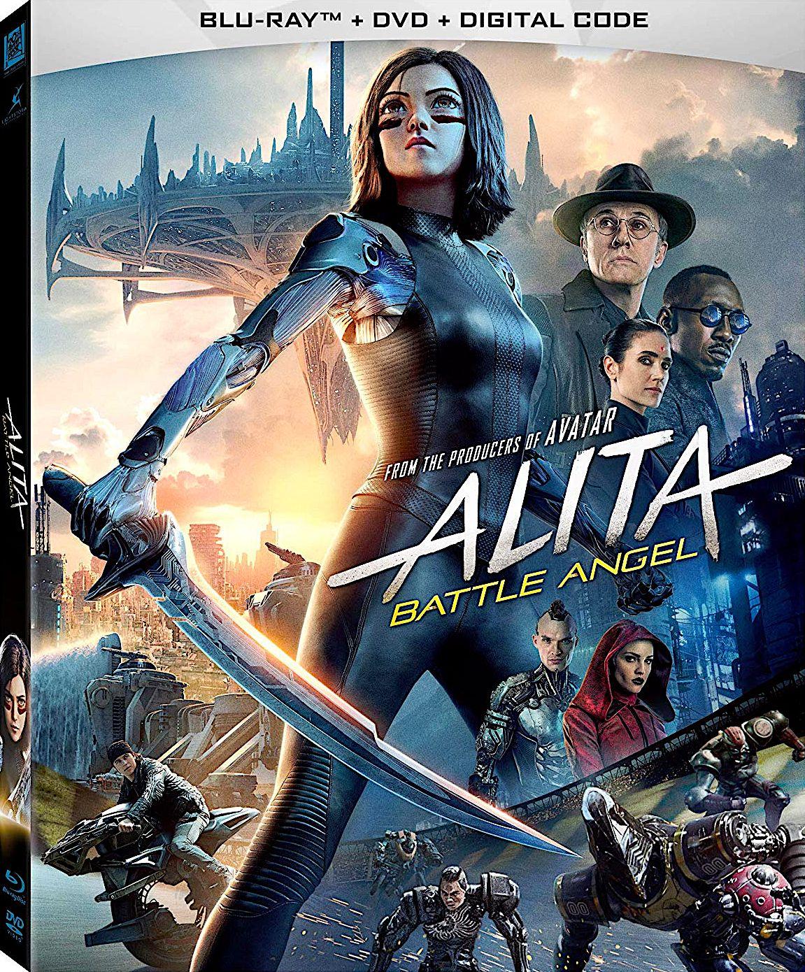 Alita Battle Angel Blu Ray 20th Century Fox Angel Movie Battle Battle Angel Alita