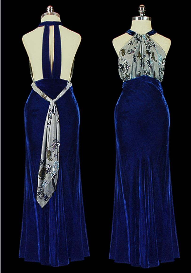 Us vintage evening gown fashions from the s pinterest