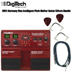 digitech hm2 harmony man intelligent pitch shifter guitar effects pedal guitar effects pedal. Black Bedroom Furniture Sets. Home Design Ideas