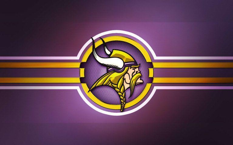 Logo Nfl Wallpapers Free Download Minnesota Vikings Logo Minnesota Vikings Football Minnesota Vikings Wallpaper