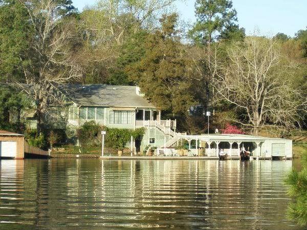 Patrick Dempseys Lake Jacksonville Tx Home Dream House Texas