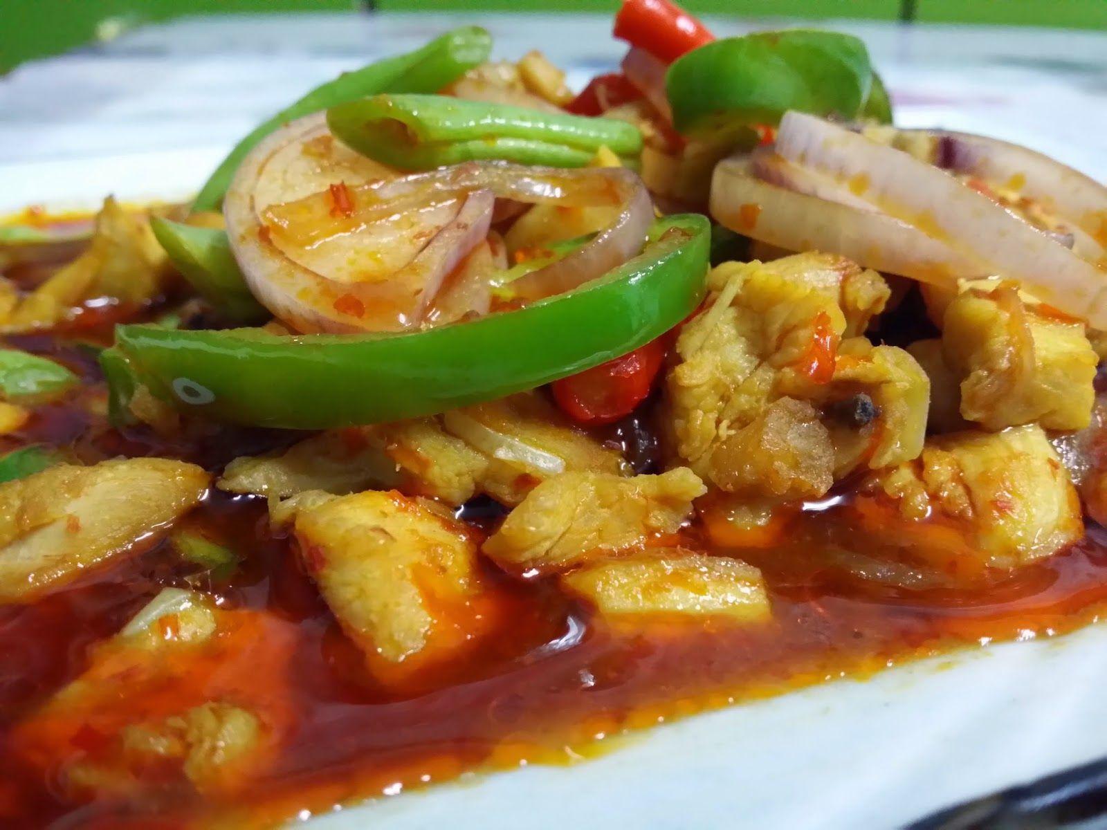Sajian Dapur Bonda Ayam Paprik Ala Thai