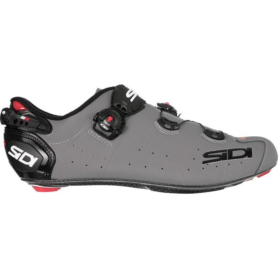 Sidi Wire 2 Carbon Cycling Shoe Men S Matte Gray Black