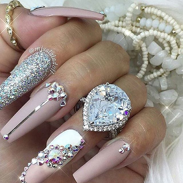 F giaaxoo ls pinterest nails diamond and glitter image prinsesfo Gallery