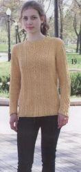 Схема вязания: Пуловер | Пуловеры спицами - petelka.net