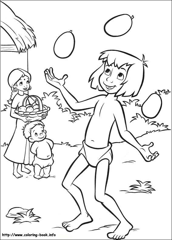 Jungle Book 2 Coloring Picture Coloring Books Disney Coloring Pages Cartoon Coloring Pages