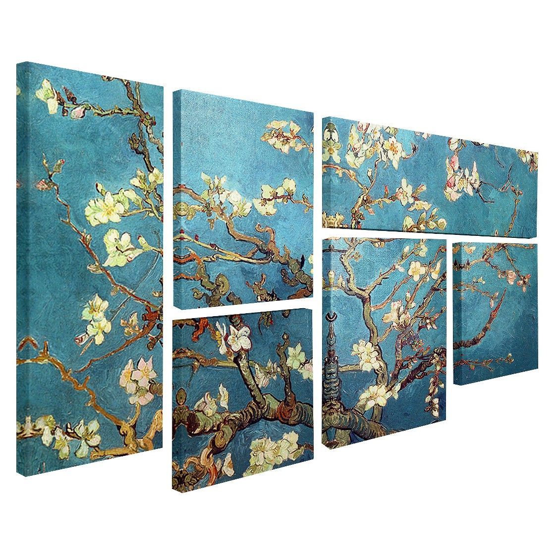 Vincent Van Gogh Multi Piece Wall Art   U0027Almond Blossomsu0027