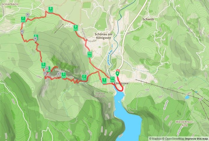Wandern Am Konigssee In Den Berchtesgadener Alpen