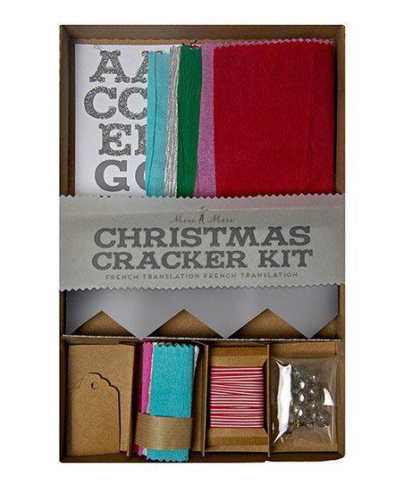 Christmas crepe make your own crackers kit diy pinterest christmas crepe make your own crackers kit solutioingenieria Choice Image