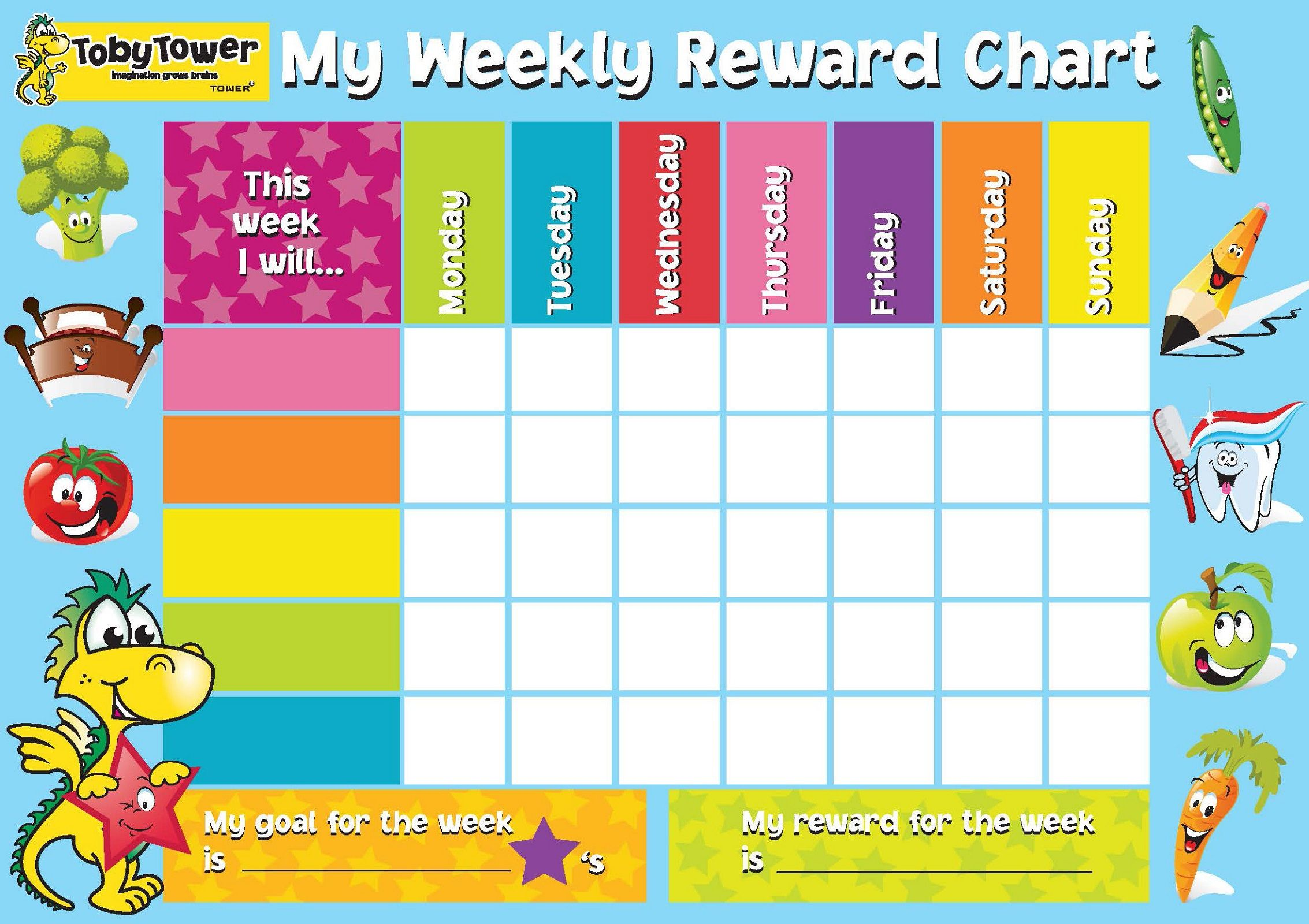 Reward chart template for kids also charts templates writing curriculum pinterest rh