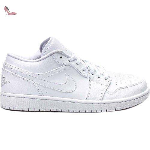 Nike Air Jordan 1 Low, Chaussures de Sport Homme, Multicolore ...