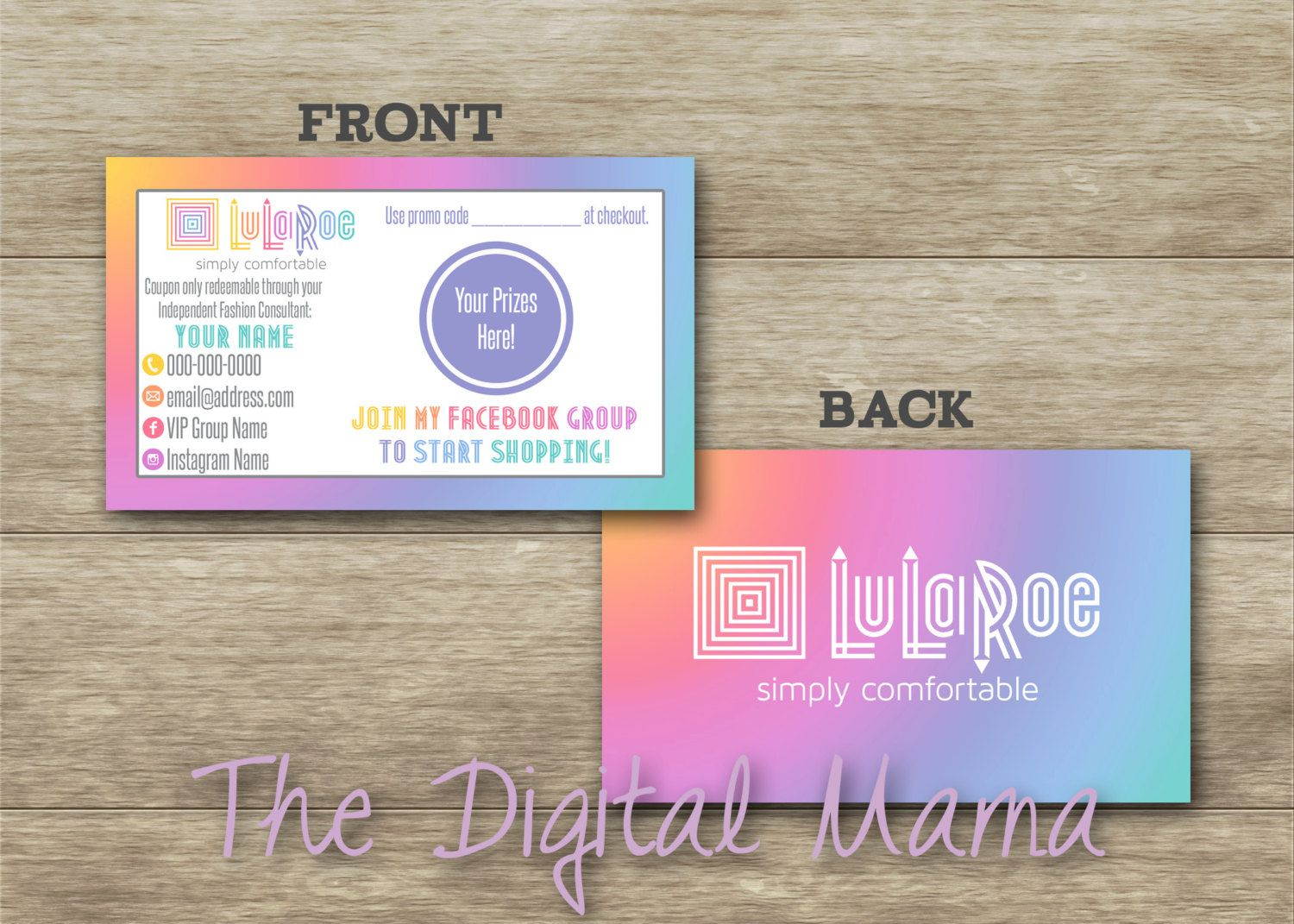 Personalized business scratch cards clothing company party scratch items similar to personalized business scratch cards clothing company party scratch off cards scratch off coupons business prize card digital download colourmoves