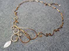 Risultati immagini per wire jewelry necklace necklace pinterest risultati immagini per wire jewelry necklace aloadofball Images