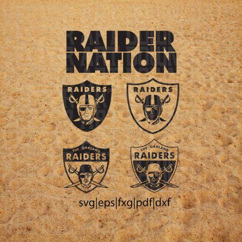 Download Los Angeles Raiders SVG Vector LA DXF NFL Download ...