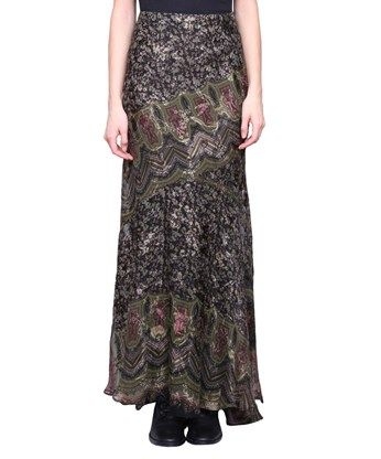 ETRO Gwen Silk Blend Skirt. #etro #cloth #skirt