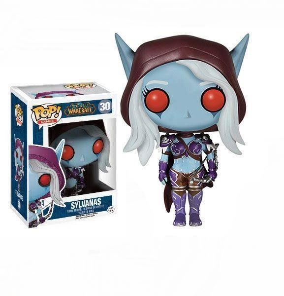 Figurines Vinyl figure World of Warcraft POP Funko Lady Sylvanas WOW