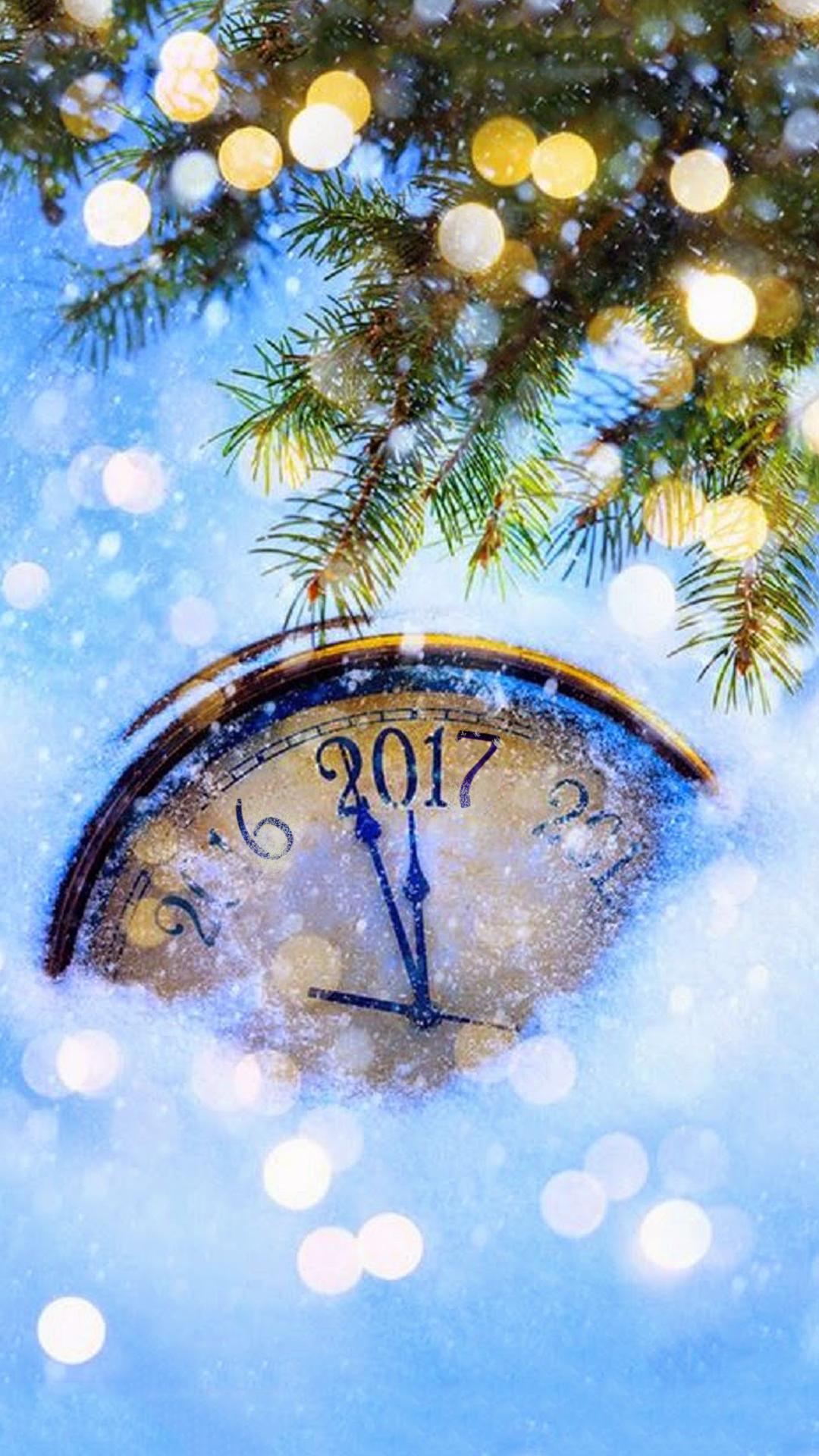 New Year Wallpaper Phone 2017 Holidays Christmas IPhone