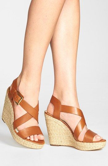 dde7c302d7 MICHAEL Michael Kors 'Giovanna' Wedge Sandal   Nordstrom   Shoe Me ...