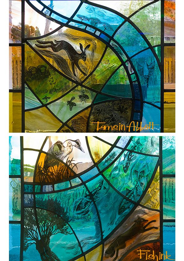 Tamsin Abbott A Vision Of Nature Through Glass Stained Glass
