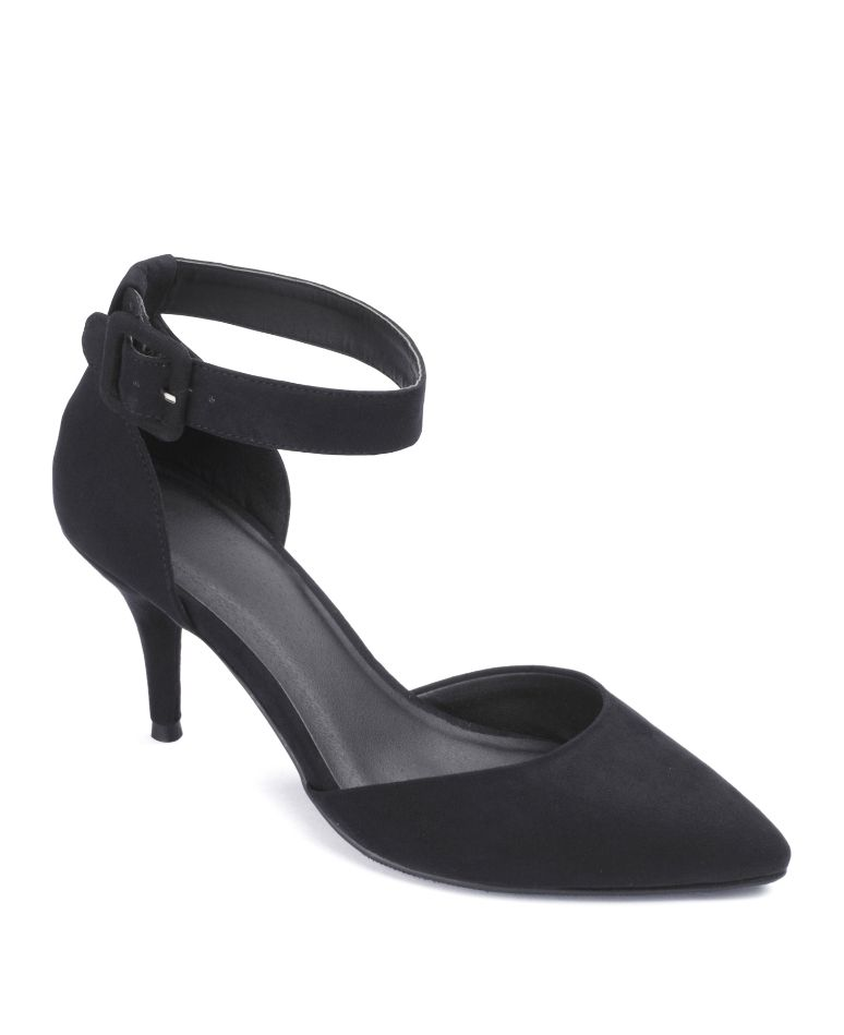 "Sole Diva"" Sole Diva Ankle Strap Court Shoe E Fit at Simply Be ..."