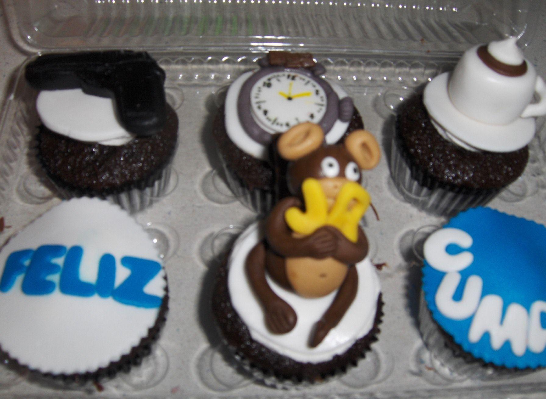 Chocolate Cupcake fondant decoration  The Cupcake