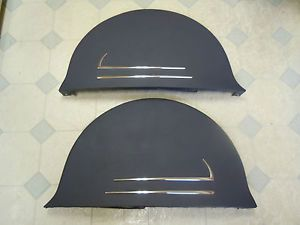 Vintage 1937 38 Chevy Accessory Fender Skirts