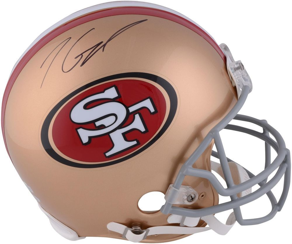 Jimmy garoppolo san francisco 49ers autographed riddell