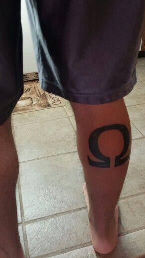 God Of War Omega Tattoo Tattoos Pinterest Omega Tattoo And
