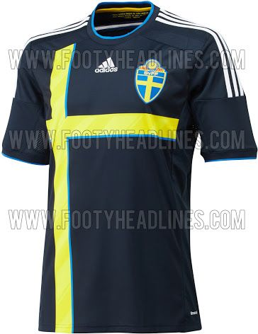 07b96f4e4 Sweden 2014 Home Kit Released + Away Kit Leaked - Footy Headlines ...