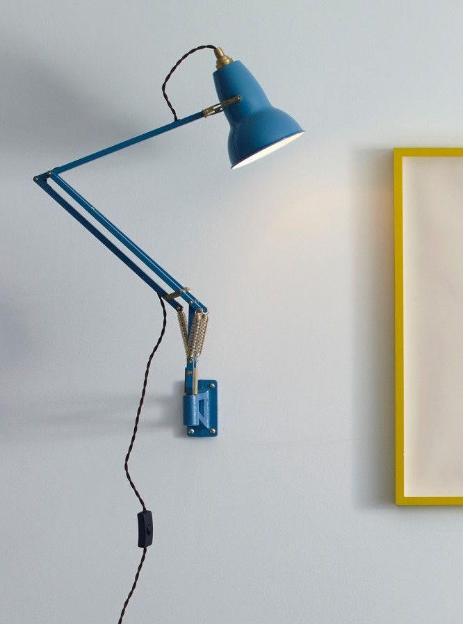 Anglepoise original 1227 brass wall mounted lamp anglepoise heritage inspired colors and authentic brass details create a new aesthetic for this iconic anglepoise design mozeypictures Image collections
