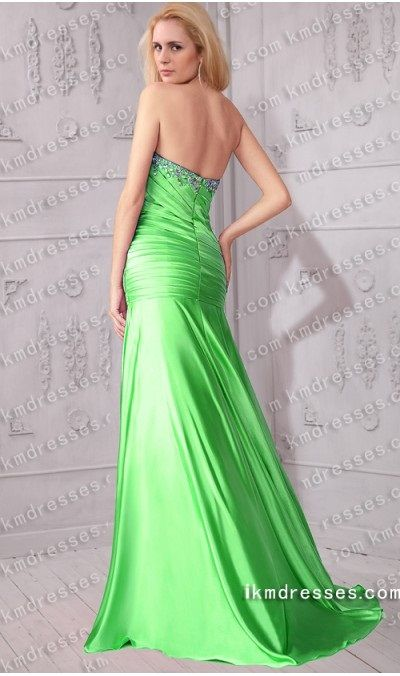 http://www.ikmdresses.com/Crystals-accented-strapless-sweetheart-ruched-A-line-drop-waist-fit-and-flare-gown-p59928
