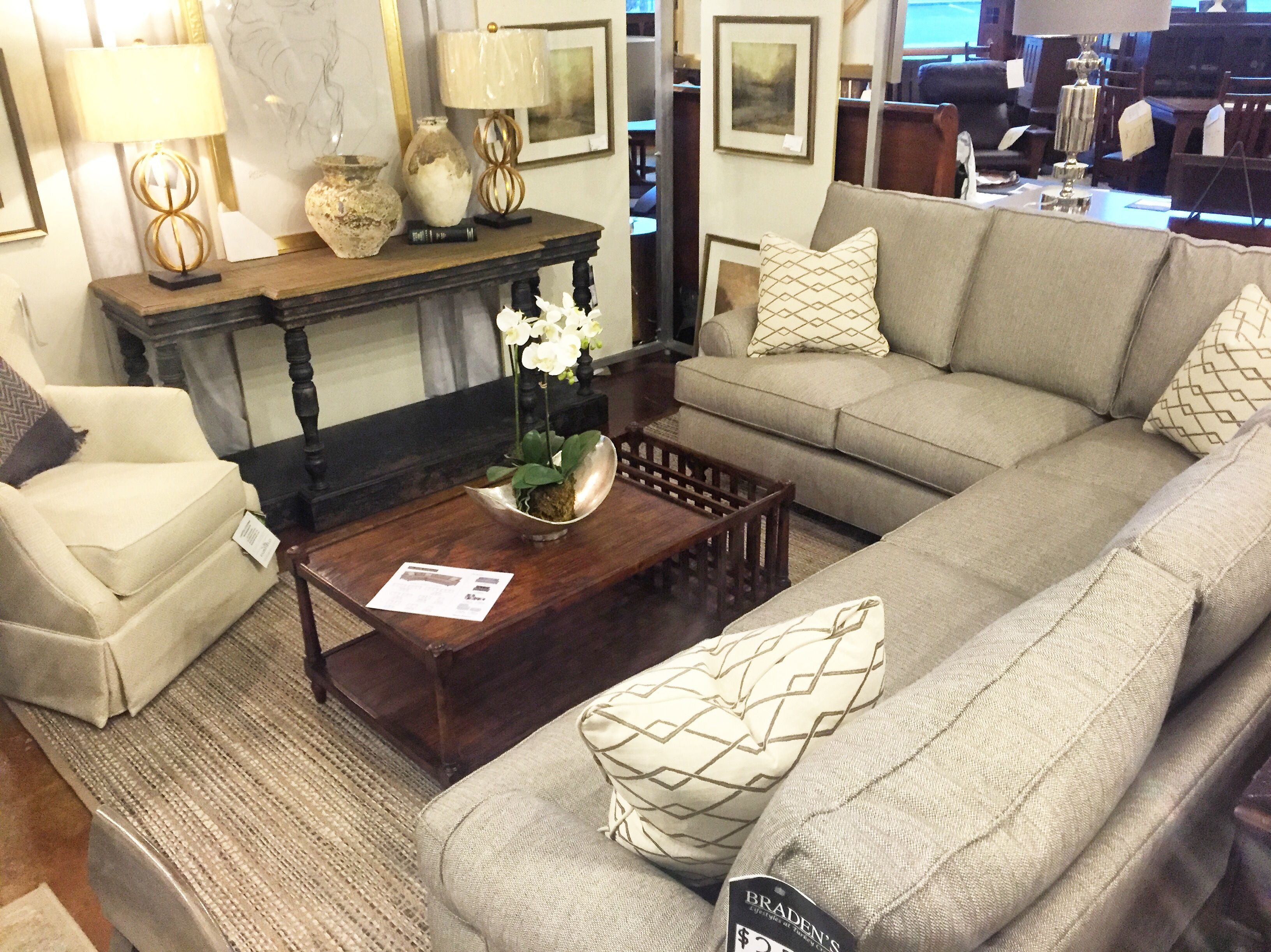 Merveilleux Furniture In Knoxville, TN   Bradenu0027s LIfestyles Furniture   Home Décor    Home Interiors   Interior Design   The Design Center At Bradenu0027s    Sectional Sofa ...