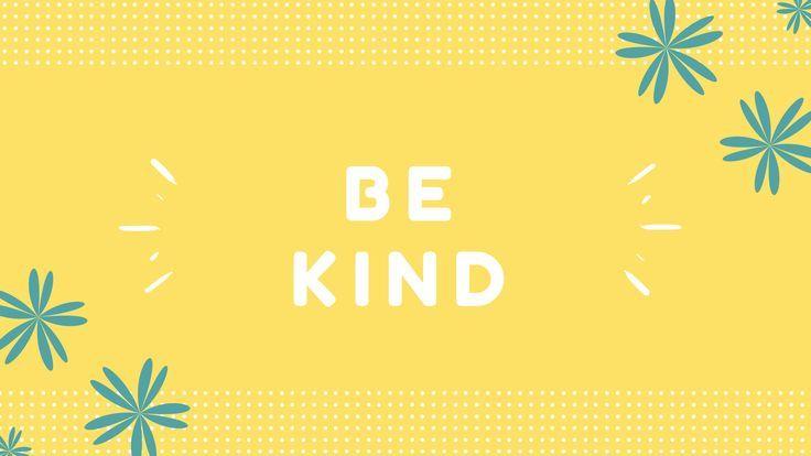 Be Kind {Free Desktop Wallpaper} - Keeping It Real In Jersey