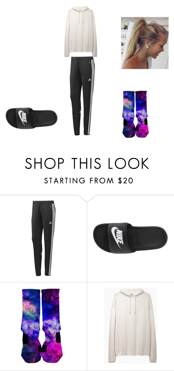 """Untitled #64"" by alicia-goodin on Polyvore featuring adidas, NIKE and Base Range"