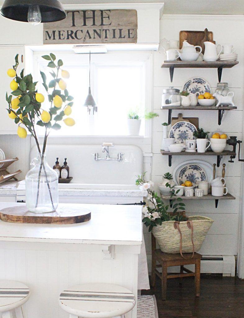 9 lemon home decor ideas   Pinterest   Lemon kitchen, Farmhouse ...