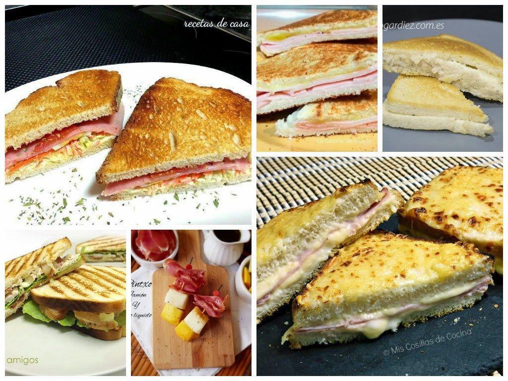 . Empezamos con un sandwich de Recetas de Casa en el que hemos utilizado pan de hogaza rústico y que se vende envasado a modo de pan de molde. Es un sandwich vegetal con jamón york y, por supuesto, puedes utilizar el pan que más te guste o tengas a mano. VER RECETA:SANDWICH VEGETAL CON …
