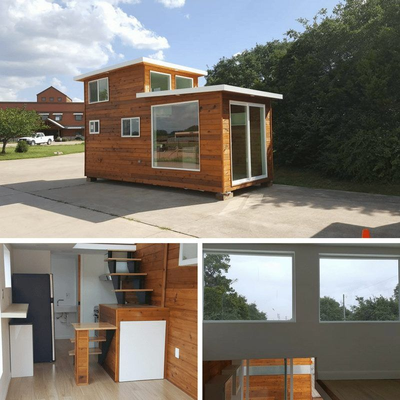 Kountry Containers Loft Home Tiny Houses On Wheels Pinterest
