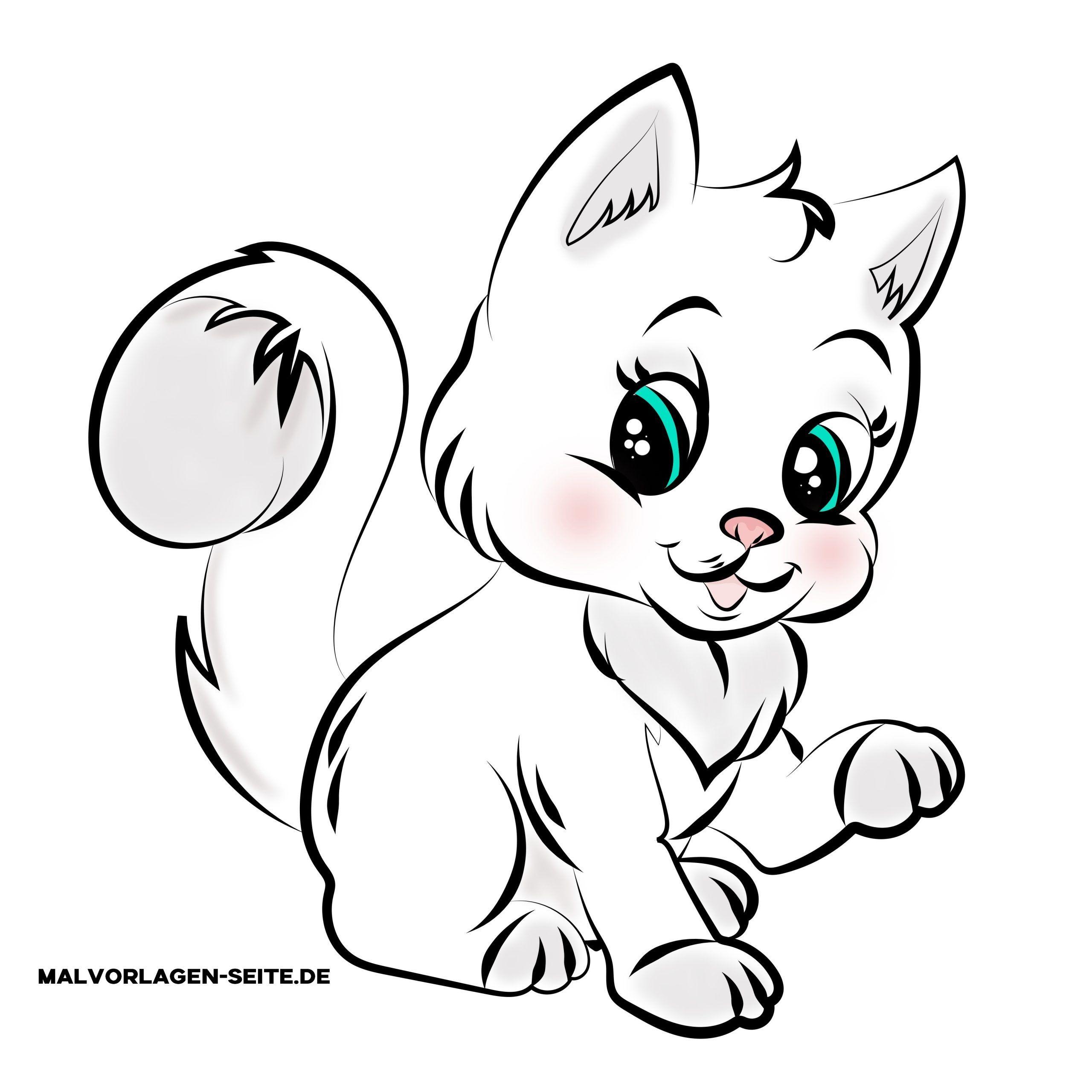Malvorlagen Babykatzen in 6  Malvorlage katze, Malvorlagen
