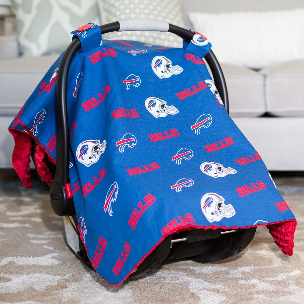 best loved 10468 55d23 Buffalo Bills Baby Gear: Infant Carseat Canopy Cover, NFL ...