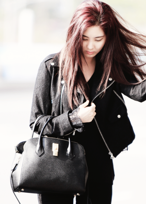 Seohyun SNSD airport fashion may 2014 | Snsd airport ...