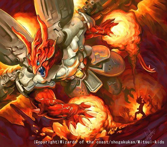 Bolshack Dragon Duel Masters Artwork2 Dragoes Design De Personagens Personagens