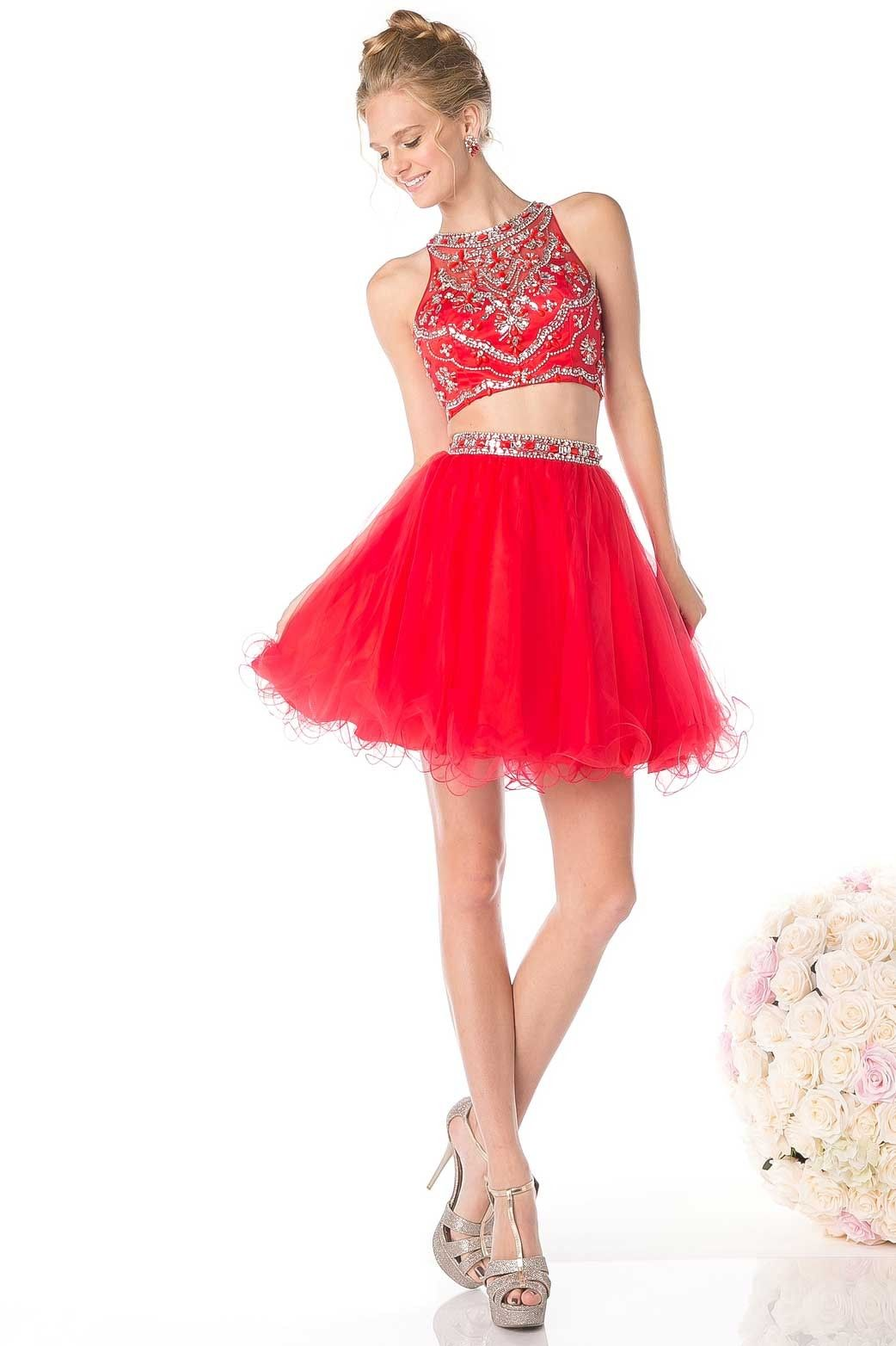 Cocktailkleid loritta rote kleider online kaufen entdecke deine