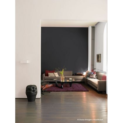 dulux rich black matt paint 2 5l your favourite. Black Bedroom Furniture Sets. Home Design Ideas