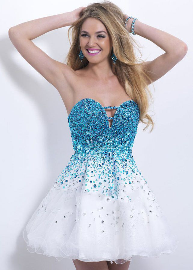 Rhinestone Homecoming Dresses d576e00b0