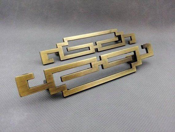 Pair of 25 375 5 Drawer Pulls Cabinet Door Handles Pulls