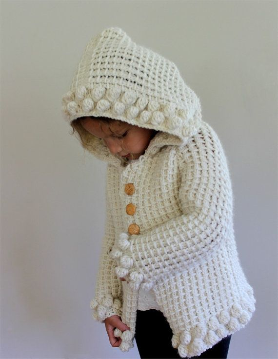 b6ba4a09510a KNITTING PATTERN- The Bobble Hoodie (sizes 6-12 months
